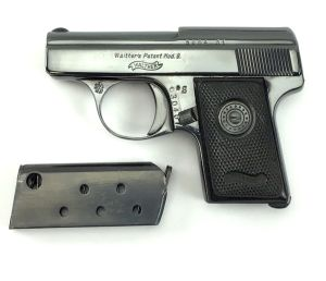 1931 Walther Model 9 - Czech Military Proofed