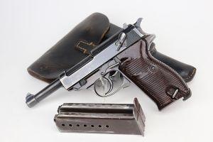 Rare Walther Mod P.38 Rig