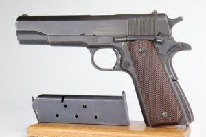 RARE Remington Rand M1911A1 - Early 2nd Var.  Dulite Finish, 1943
