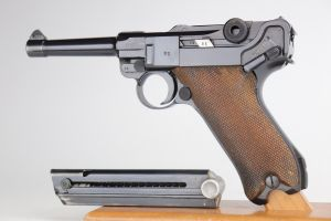 Mint 1938 Mauser Luger - Military/Commercial Divert