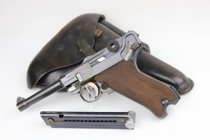 Rare G Date Mauser Luger Rig