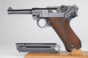 Excellent 1938 Nazi Mauser Luger - Matching Magazine