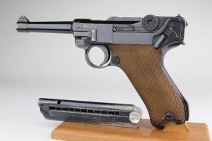 Excellent 1941 Police Mauser Banner Luger
