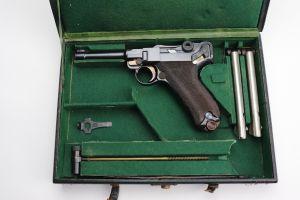 Rare Bolivian DWM Luger Rig