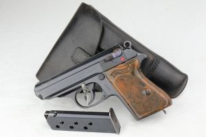 SOLD - Excellent Walther PPK Rig - DRP Marked