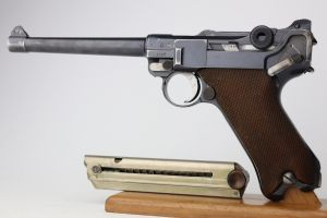 Scarce, Excellent 1917 DWM Navy Luger