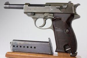 Excellent Dual-Tone Mauser P.38 - BYF 44