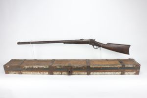Very Interesting Boxed Winchester Model 1885