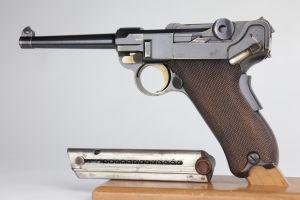 1900 American Eagle DWM Luger
