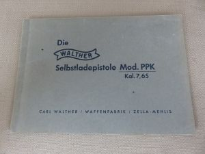 SOLD - Walther PPK Trans-Art Manual