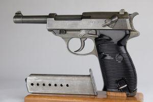 Rare Nazi Mauser P38 SVW 45 - All Phosphate
