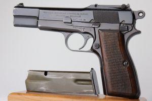FN Browning High Power - Belgian Military