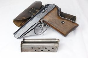 SOLD - Early Police Mauser HSc rig