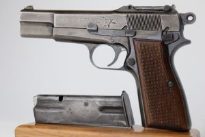 Nazi Browning High Power - Earliest Variation