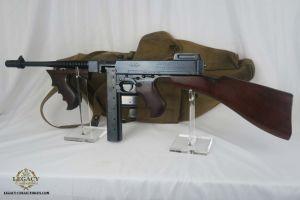 SOLD - Original Full Auto U.S. Navy Thompson Submachine Gun!
