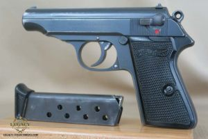 SOLD - Rare Tirolean Walther PP Shooter Prize