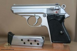 SOLD - Rare Factory Chrome Walther PPK
