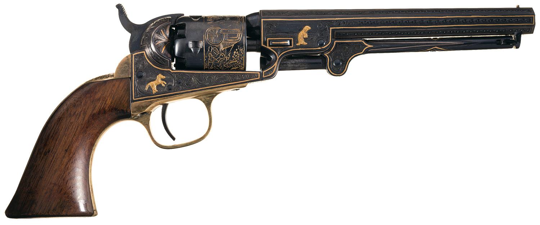 Gold Inlaid Colt
